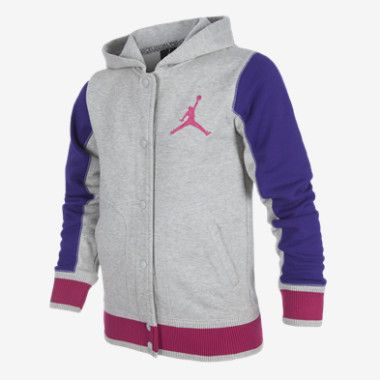 f39c2d10d2ee6e Jordan Girl New Varsity 2.0 Fleece Girls Jacket