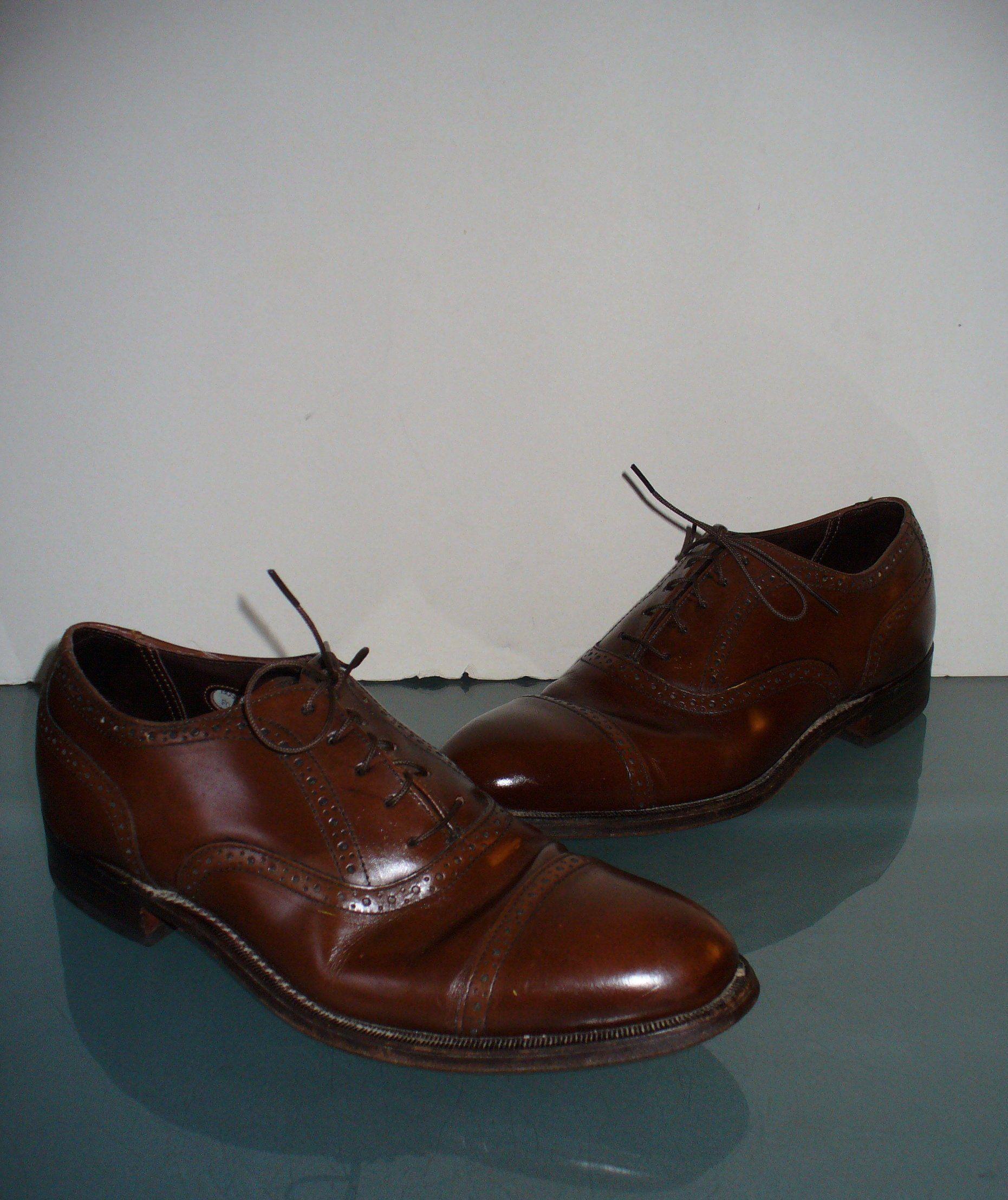 ac7b5d0bc34d9 Bostonian Vintage Wingtip Shoes Size 8 D/B in 2019 | vintage shoes ...