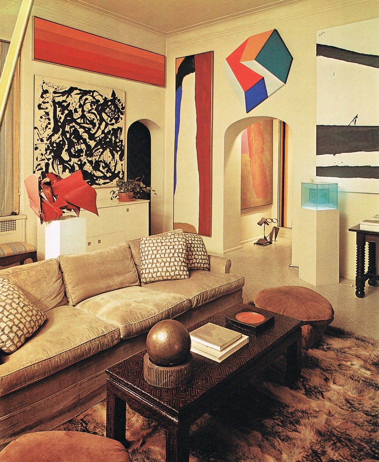 22Interior+with+Art%22+by+Billy+Baldwin.jpg (1314×1600) | ARTIST\'S ...