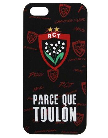 Coque Iphone 5 Parce Que Toulon / RCT | Coque iphone, Toulon ...