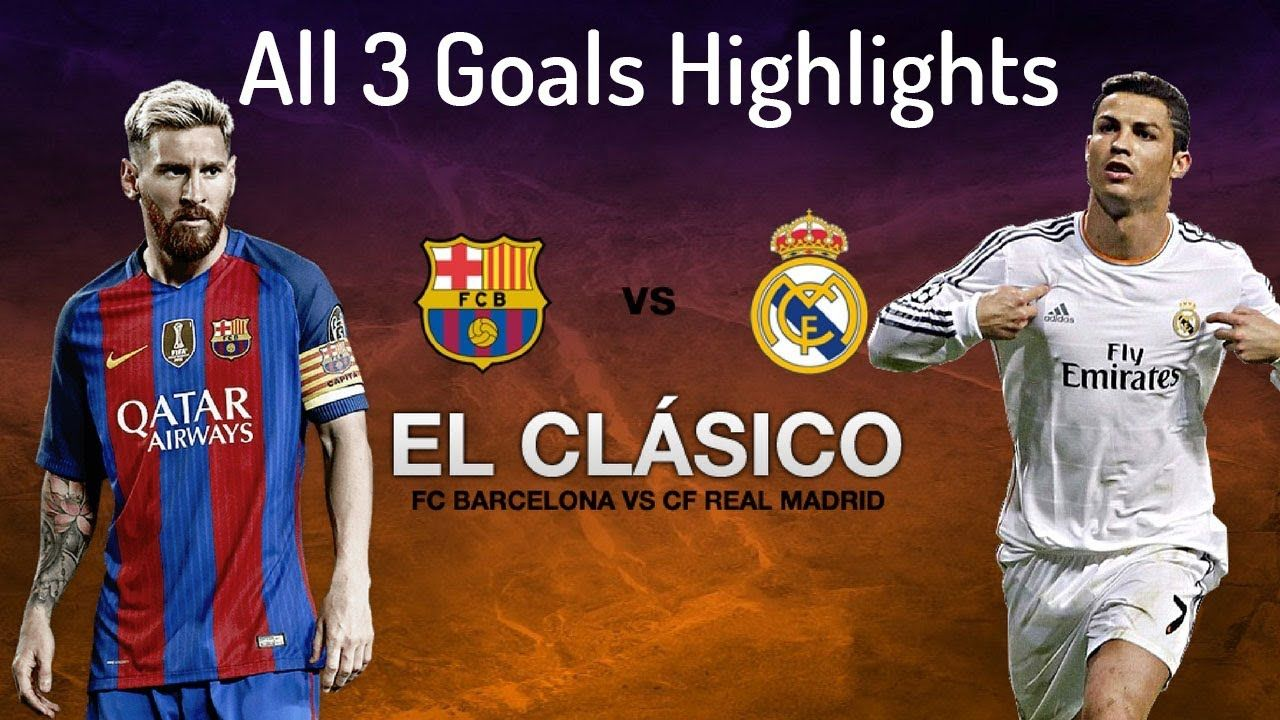 Real Madrid Vs Barcelona 0 3 All Goals Highlights 23 12 2017 Hd Real Madrid Barcelona Vs Real Madrid Madrid