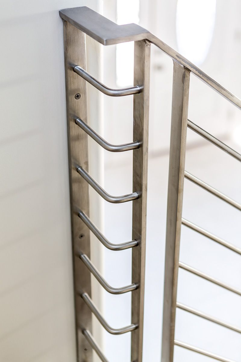 Best Close Up Of Custom Stainless Steel Railing Stair Railing 400 x 300