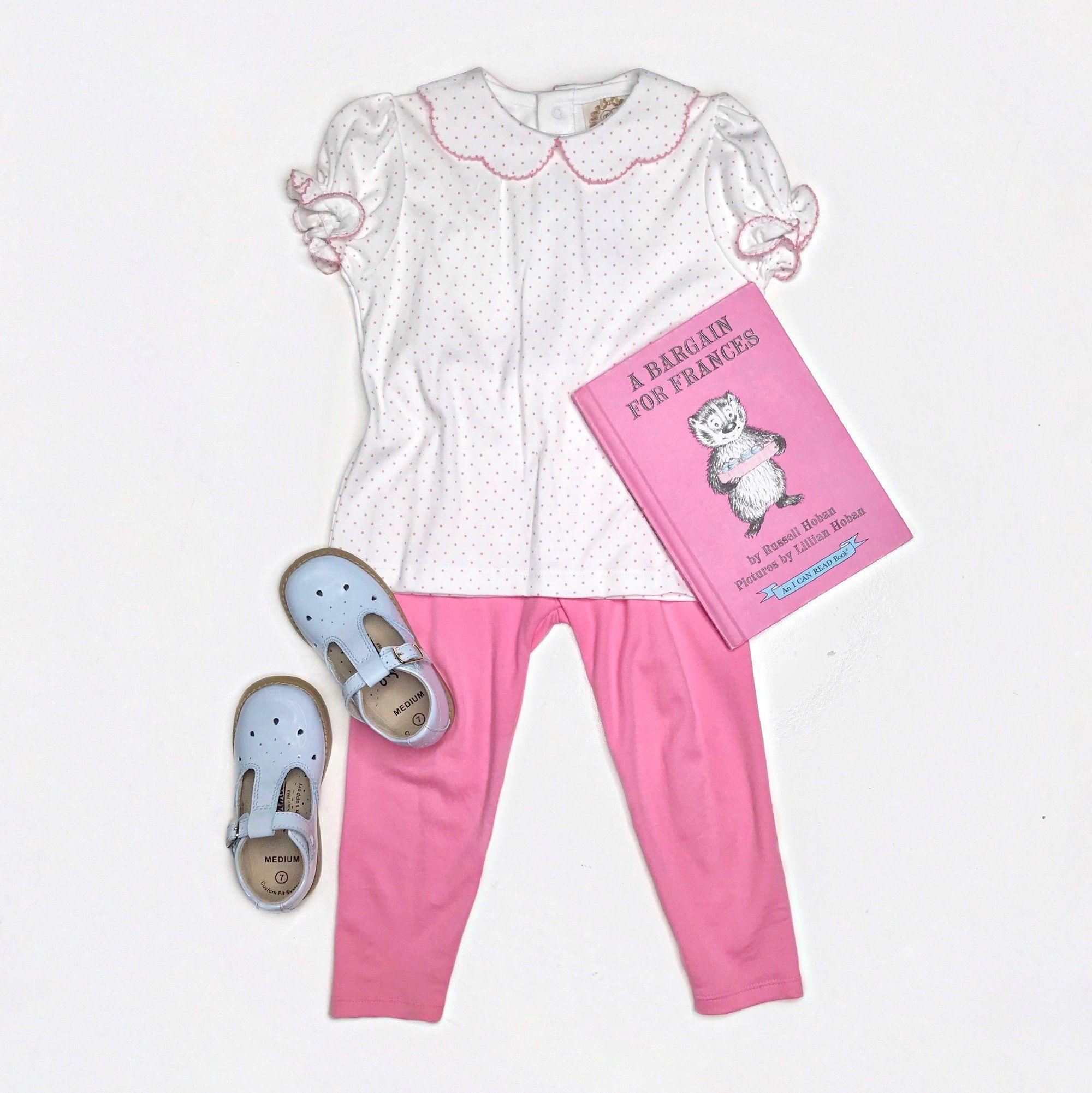 a5eb8ad0ef35 Maude's Peter Pan Collar Shirt - White Short Sleeve Pima with Hamptons -  The Beaufort Bonnet Company