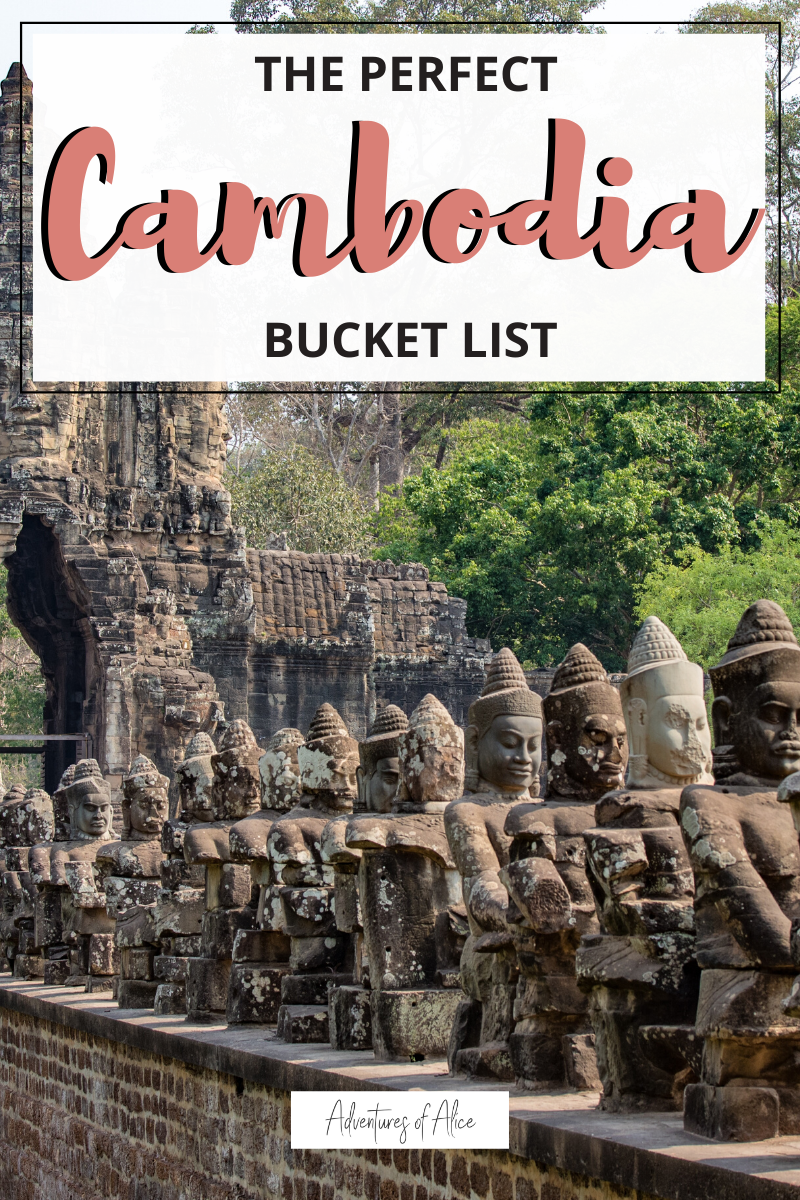 If you're looking for the perfect way to spend 10 days in Cambodia, this is the perfect Cambodia itinerary! Featuring travel tips, temple guides and all the best things to do in Cambodia. So, if you'd love to travel south-east Asia, here's the ultimate Cambodia bucket list. #asia #cambodia #southeastasia #travel