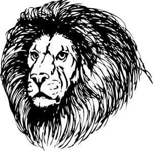 Leadership Education Academy Building Skills And Abilities In 8 17 Year Old Students Through Live Online Public Domain Clip Art Lion Clipart Lion Silhouette