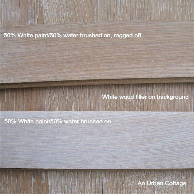 White Wash Oak Stain: White Wood Stain, White Wash Oak