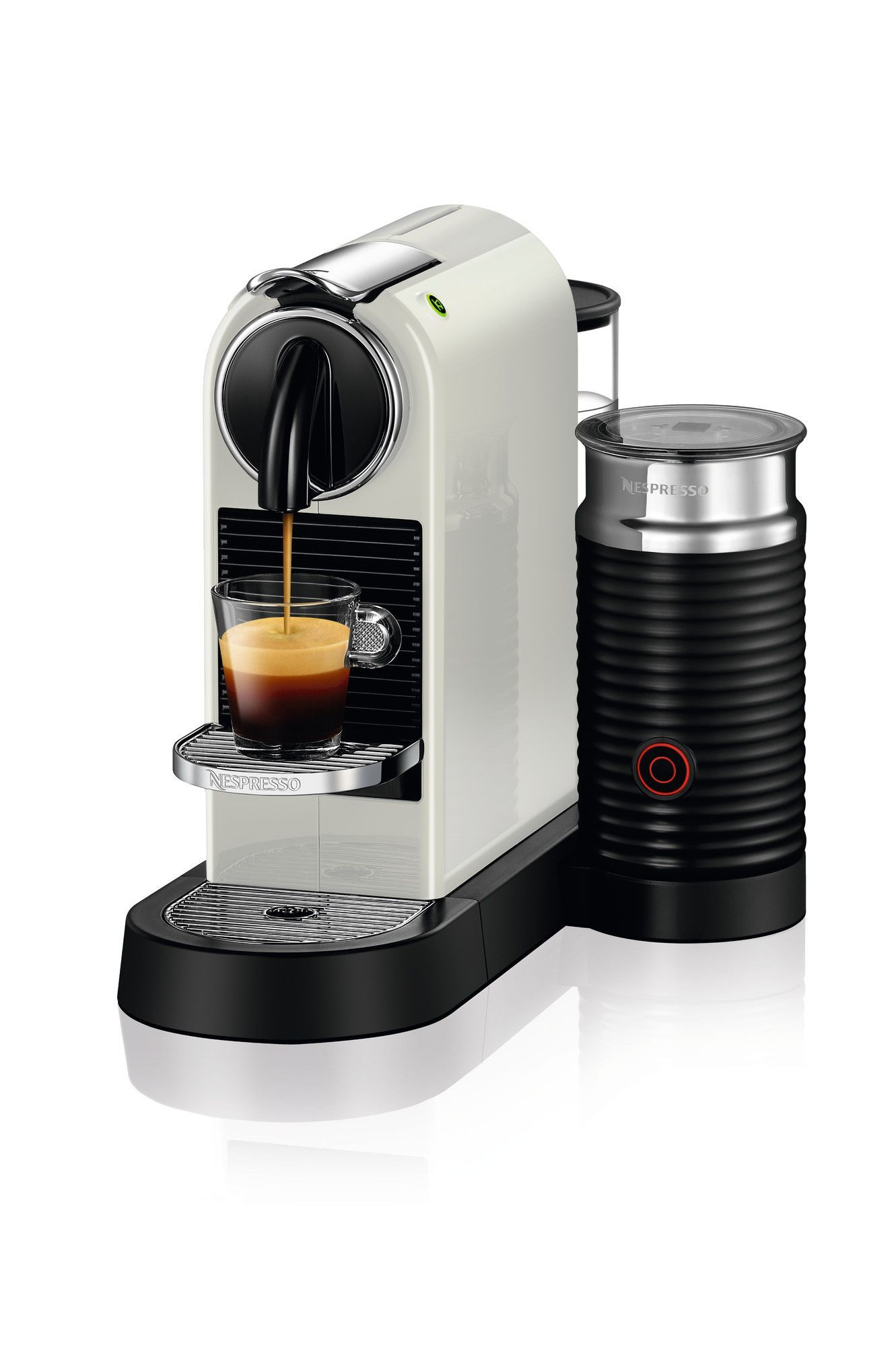 Citiz Espresso Maker with Milk Frother Coffee machine
