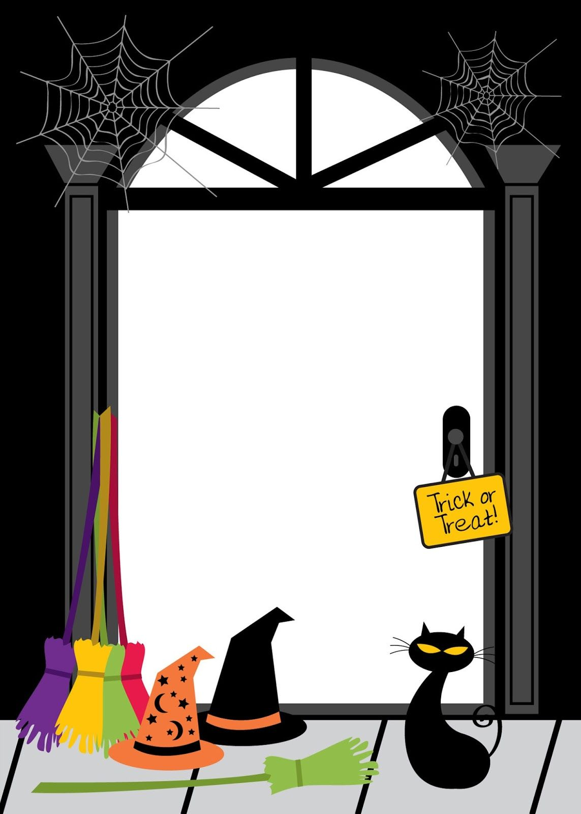 Bordes y Marcos para Halloween. | Bordes para word | Pinterest ...