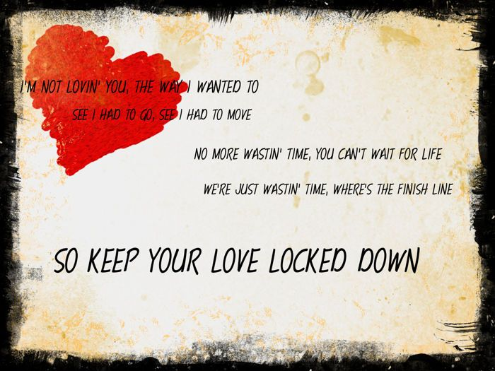 Love Lockdown By Kanye West Music Lyrics Lyrics Words