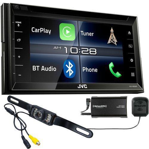 JVC KWV820BT Apple CarPlay Receiver with Sirius XM Tuner
