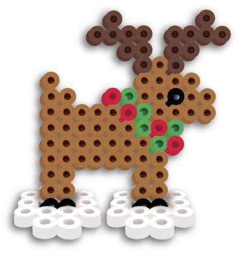 Perler Beads Fused Bead Kit Reindeer | eBay
