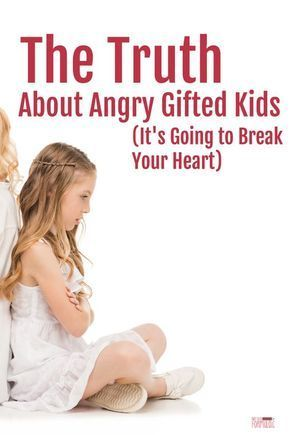 Angry children don't rage for anger's sake. Rather, their behavior is a symptom of a deeper issue. Here's a close look at the anatomy of an angry gifted child, plus suggestions for helping her cope. via @notsoformulaic