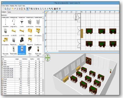 logiciel pour crer une piece en 3d good logiciel pour. Black Bedroom Furniture Sets. Home Design Ideas