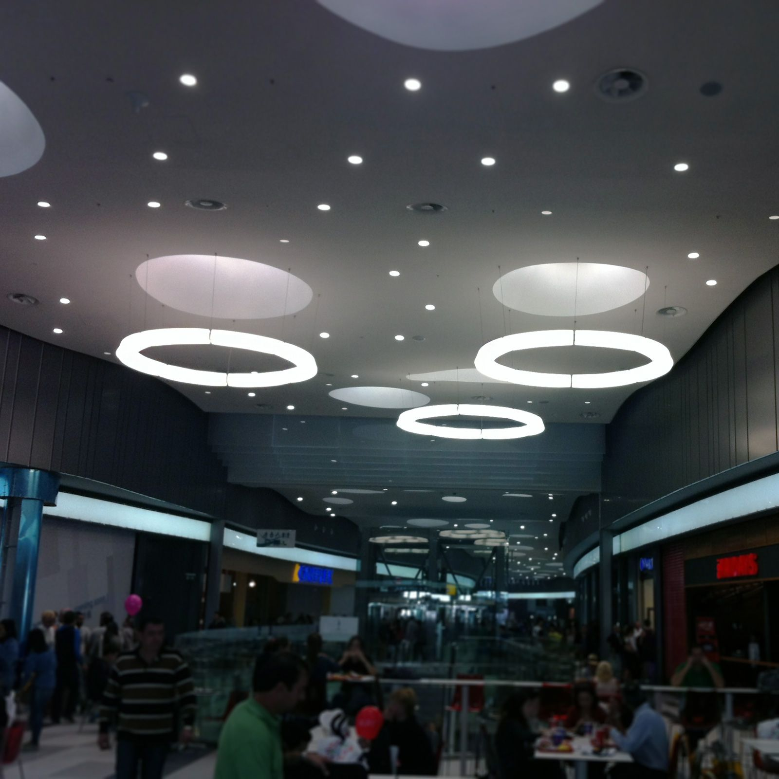 Kings Avenue Mall, Paphos, Cyprus A new contract project  with Circular Pol XXL  Customer: Luce Ataliotis Architects: Metesysm