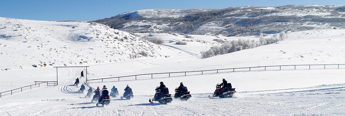 Get snowy on snowmobiles this winter with summit meadows