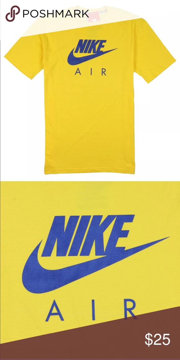 Nike Men's Air Max Logo T-Shirt Varsity