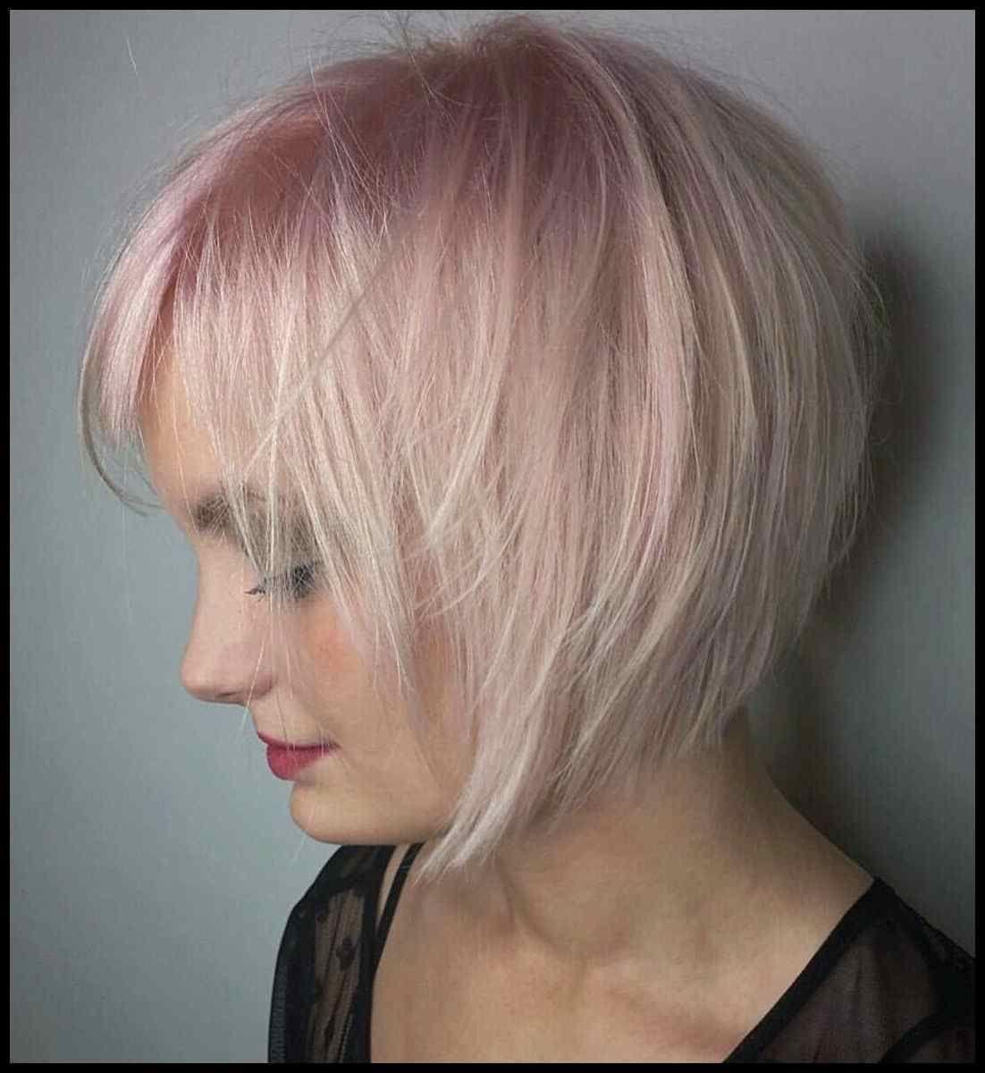 Kurze haare pink farben