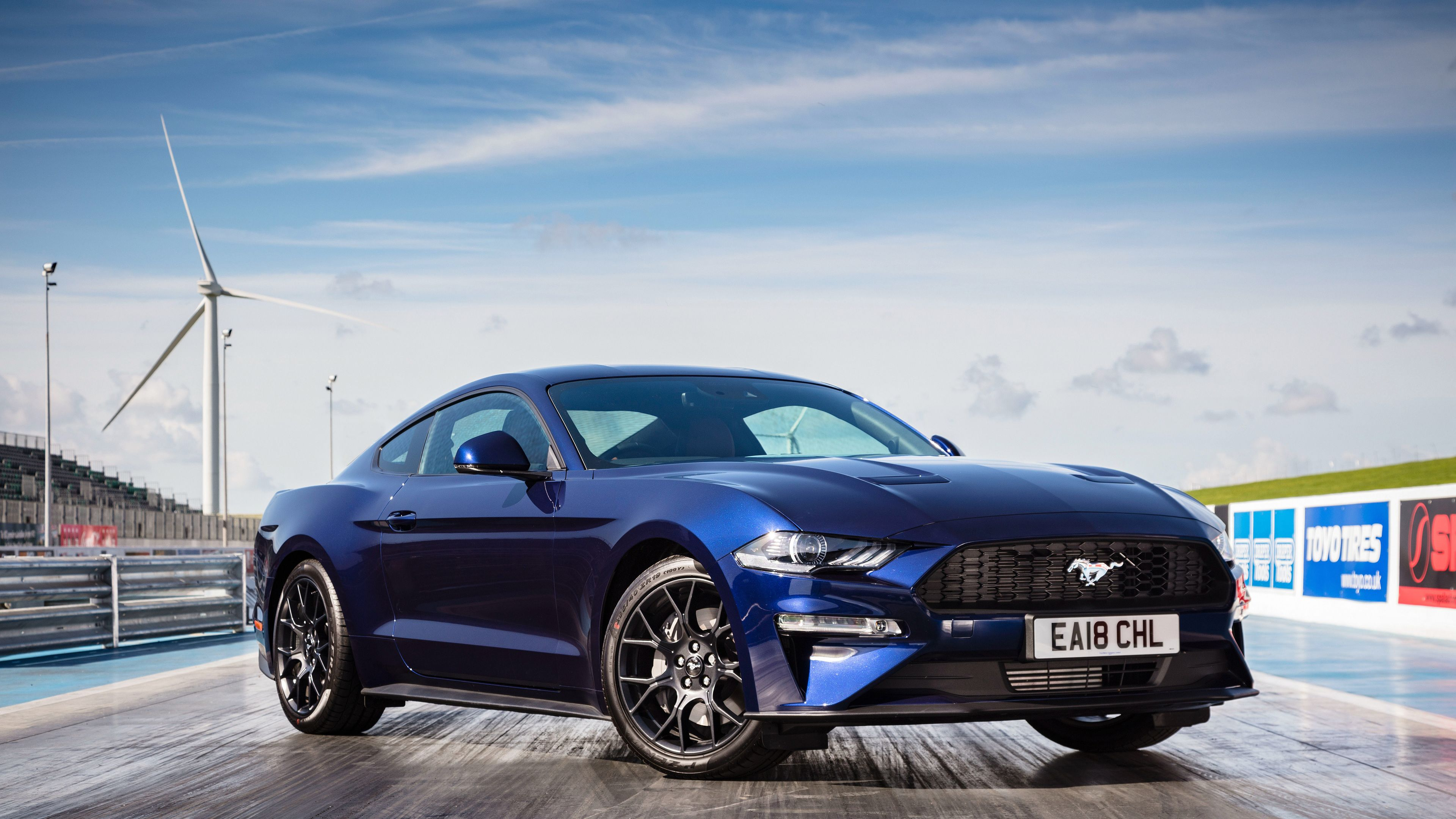 Ford Mustang Ecoboost Fastback 2018 Mustang Wallpapers Hd Wallpapers Ford Mustang Wallpapers Cars Wallpapers 4k Mustang Ecoboost Blue Mustang Ford Mustang