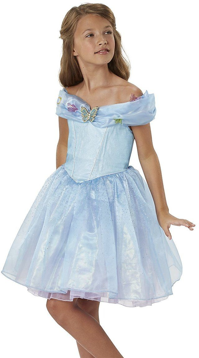 Disney Cinderella Ella Blue Dress Costume $9.00 (amazon.com)