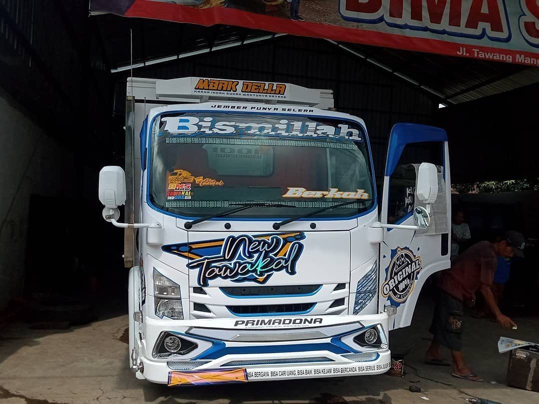 Truck Canter Wahyu Abadi Google Drive Konsep Mobil Truk Besar Stiker Mobil