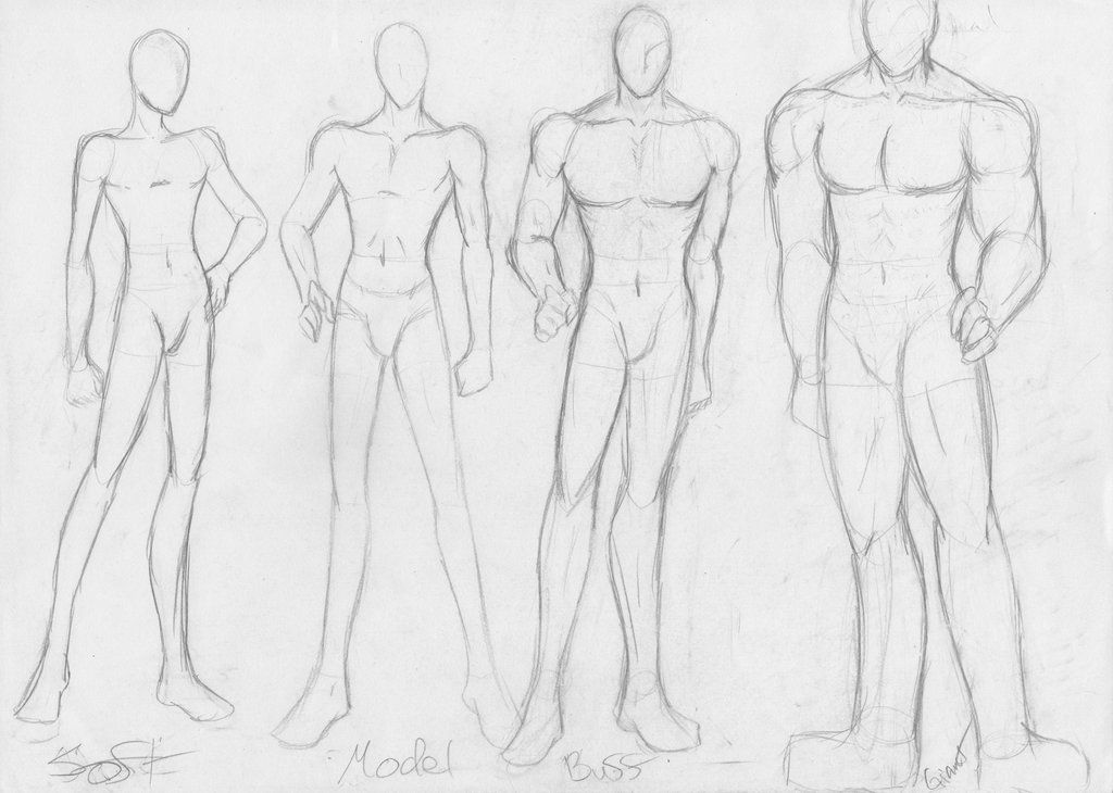 Male Body Type Sketch By Pandadanceproduction On Deviantart Body Type Drawing Body Sketches Male Body