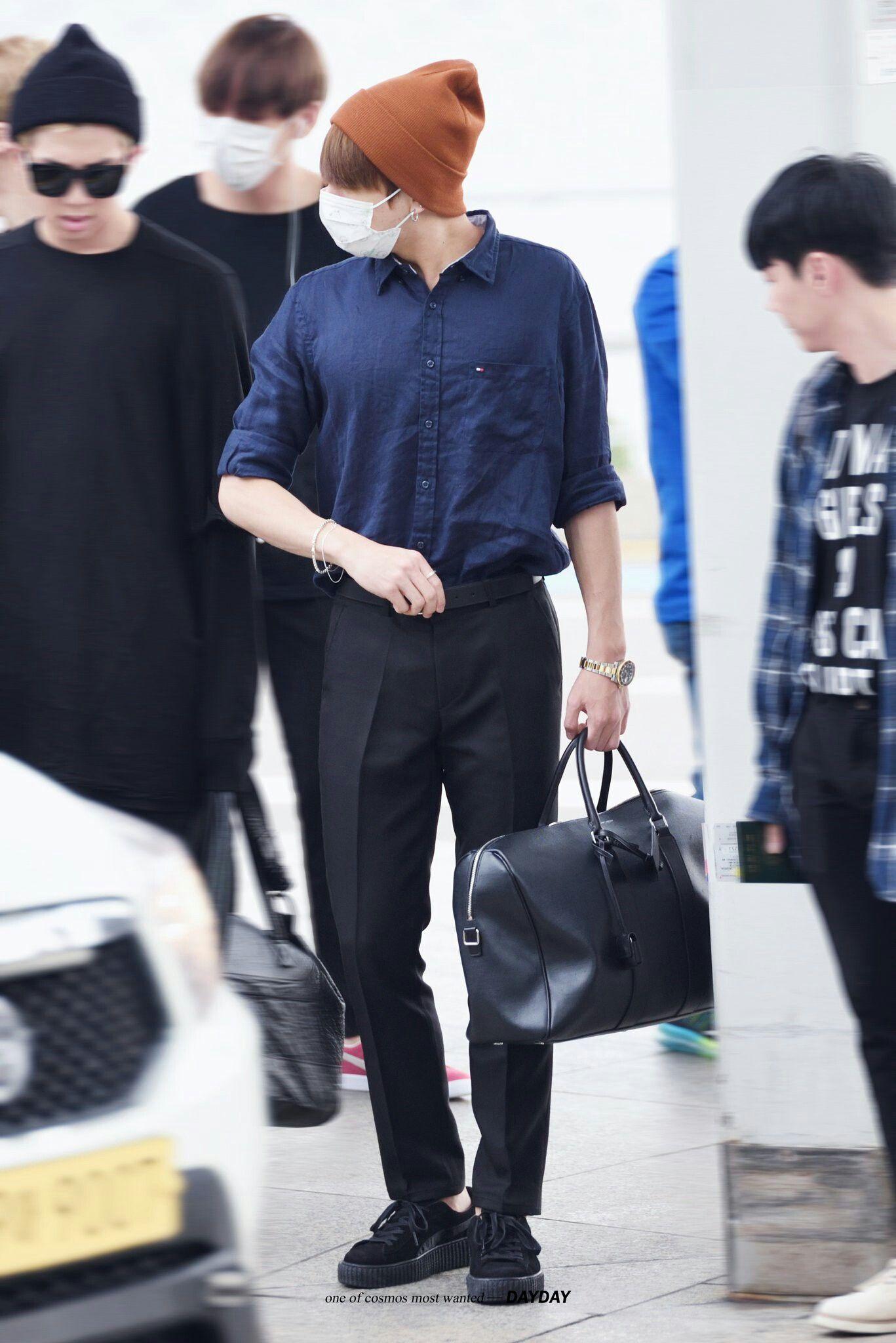 Jungkook | Jungkookkie BTS ในปี 2019 | BTS Bts airport และ ...