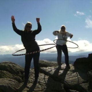 Extreme Hula Hooping On Mount Washington Last Fall Dream Destinations Mount Washington Hooping
