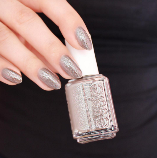 Perk up with an essie gray shimmering \'mochacino\' manicure this fall ...