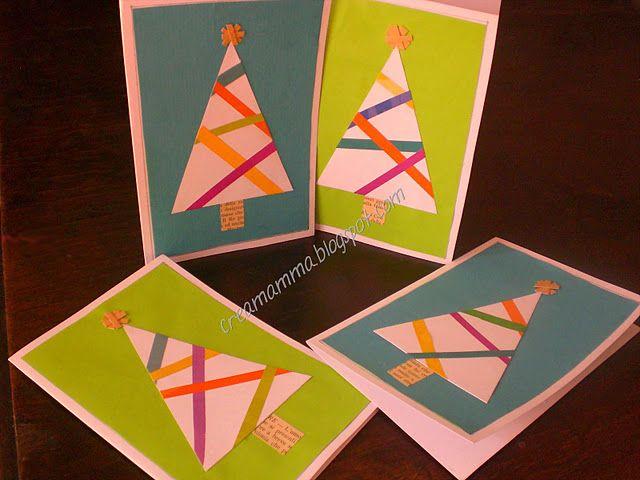 """Cartoline di Natale molto """"low cost""""!"""