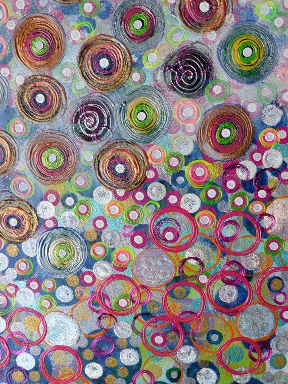 Resumen Original pintura de 16 x 20 x 1 por HeatherMontgomeryArt