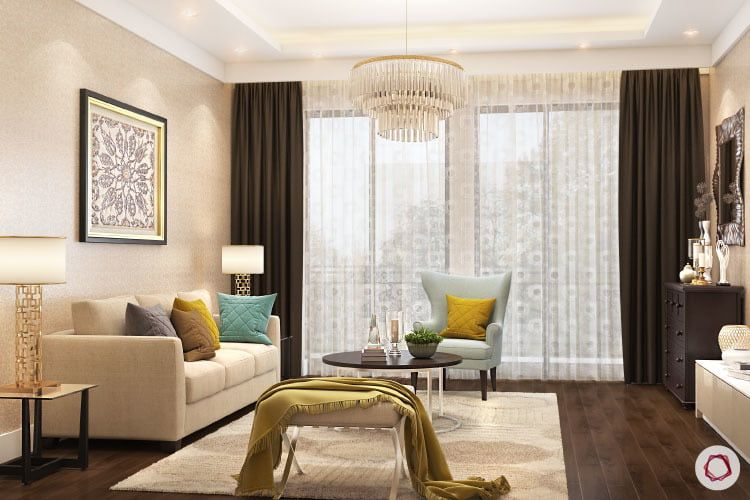 Light Up The Way To Prosperity With Vastu Living Room Decor