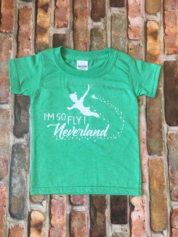 1f4b6aa0a Disney shirts-peter pan shirt-toddler girl clothes-toddler boy. Im so fly I  neverland ...
