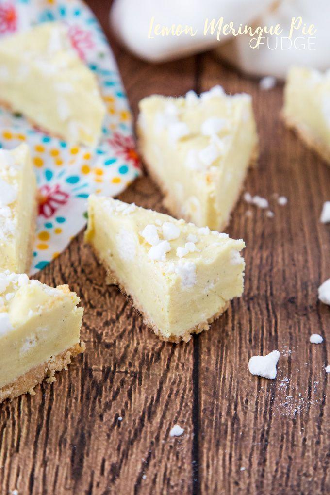 Lemon Meringue Pie Fudge #lemonmeringuepie Lemon Meringue Pie Fudge #lemonmeringuepie