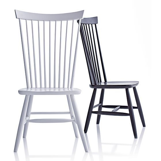 marlow ii wood dining chair | marlow, side chair and crates