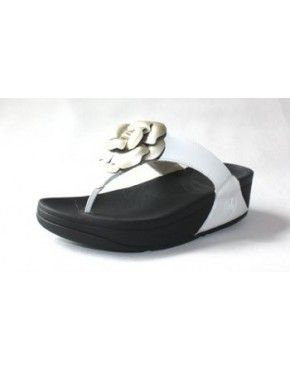 Womens Fitflop Florent White Gold