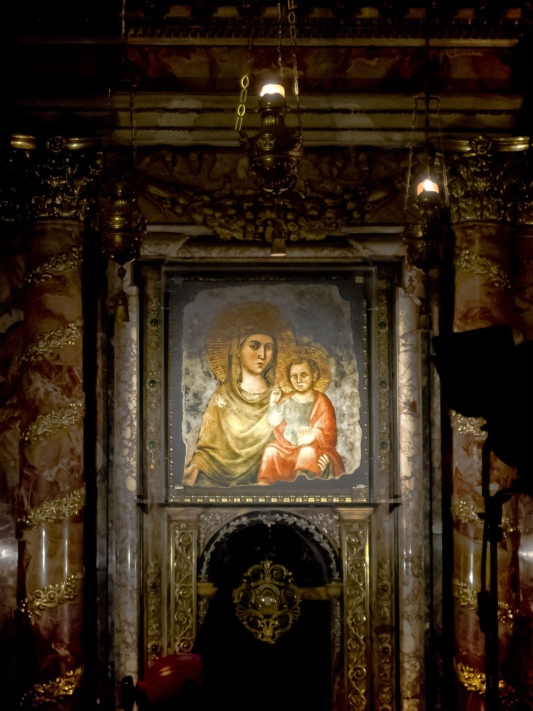 virgin ever mary fathers church Early