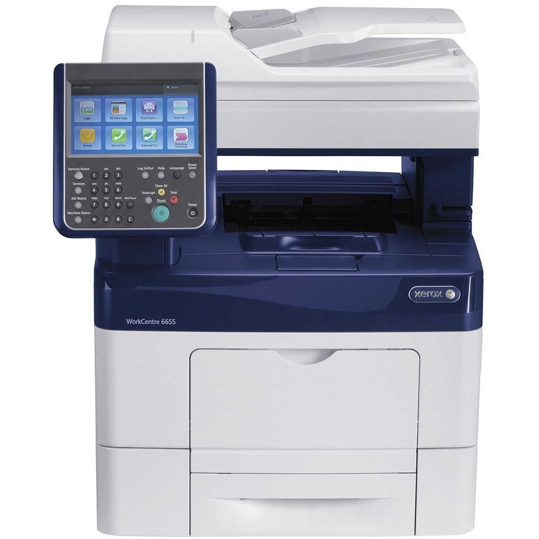 Xerox Workcentre 6655 X Laser Multifunction Printer Color
