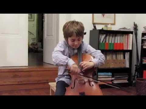 8 Year Old Cellist Plays David Poppers Tarantella Youtube