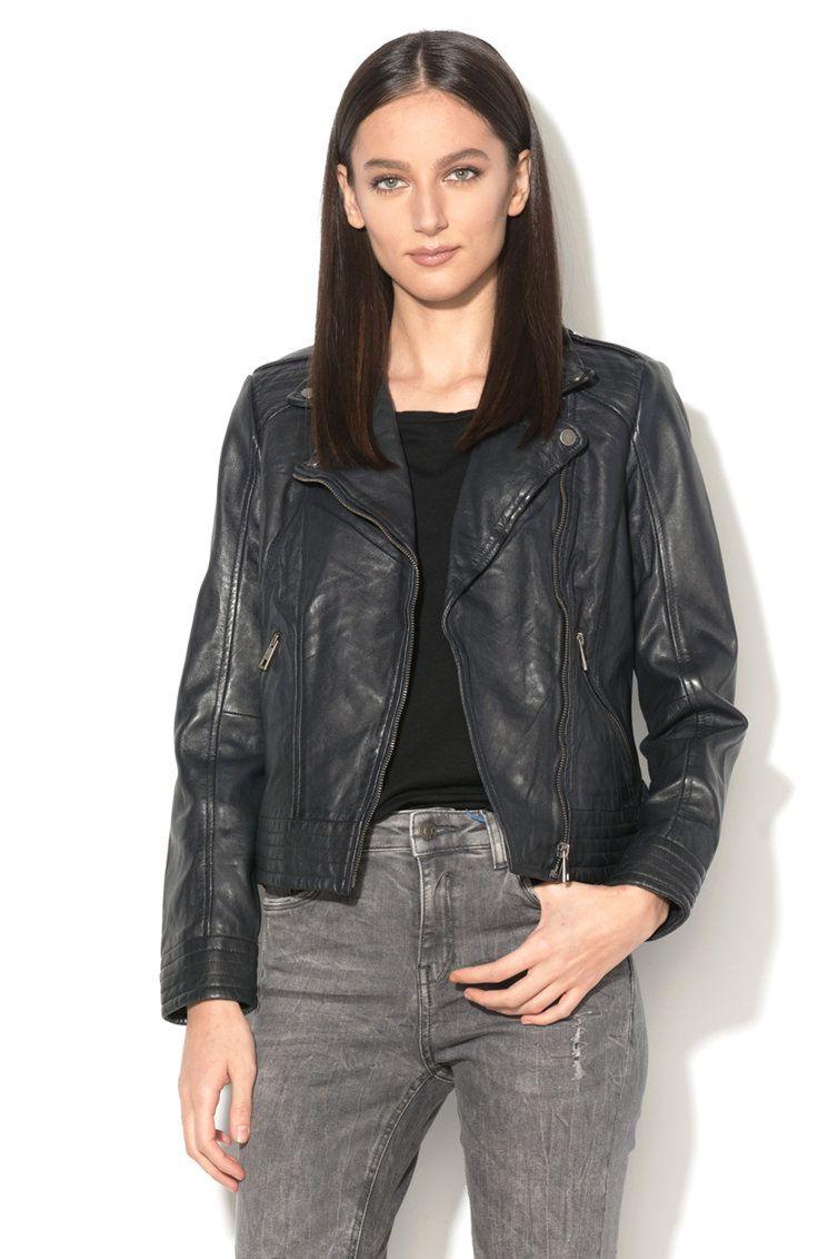 2e2f1d03f09 Дамско Кожено Яке-Esprit   Дамски Якета и Палта   Leather, Leather ...
