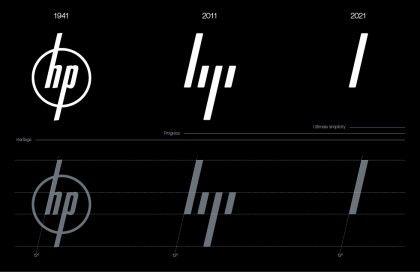 HP: nova identidade sim, novo logo não • LOGOBR