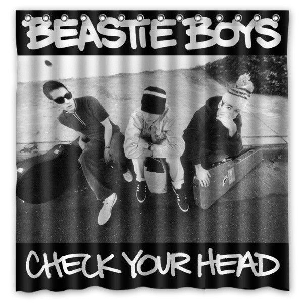 Buy Beastie Boys Pattern Creative Bath Shower Curtains Bathroom ...