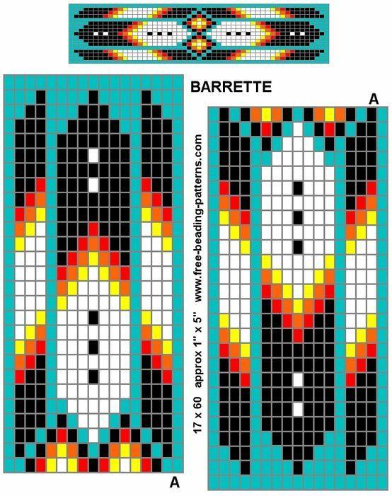 Native American Beading Patterns | Native American Tribal Beading Patterns | Native Beadwork Patterns