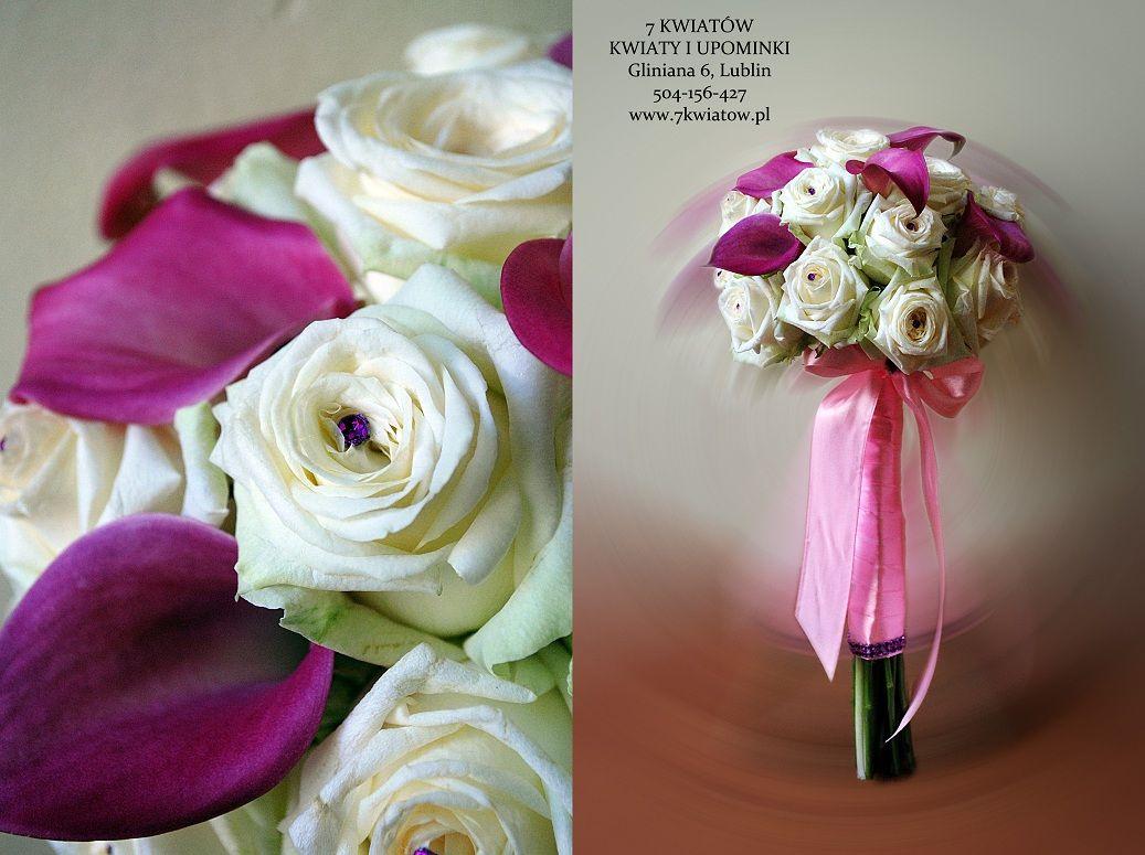 Bukiety Slubne Z Lublina Roza I Kalia Kwiaciarnia 7 Kwiatow Beautiful Flower Tattoos Flower Aesthetic Most Beautiful Flowers