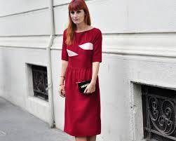 In Milan (wearing Marianna Cimini dress, Sandro bag)