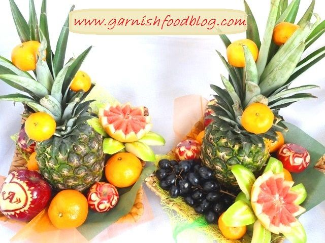 Fruit Carving Arrangements and Food Garnishes: Tropical ...