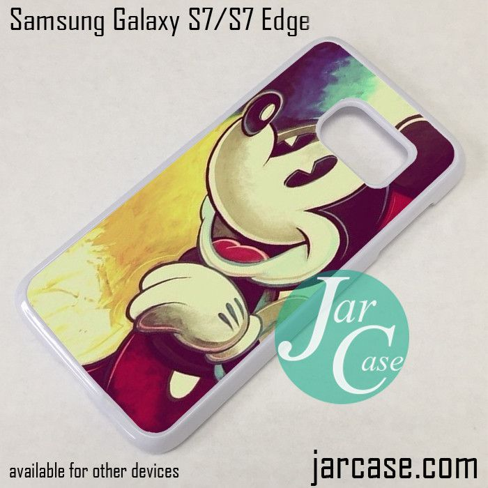 the latest 87f23 2c6c5 Mickey Mouse Walt Disney Phone Case for Samsung Galaxy S7 & S7 Edge ...