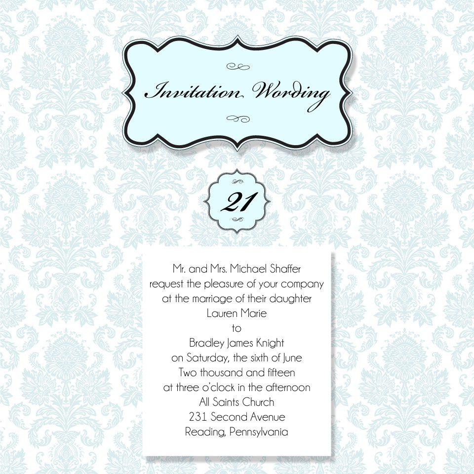 Creative, inclusive, thoughtful, wedding invitation wording ...