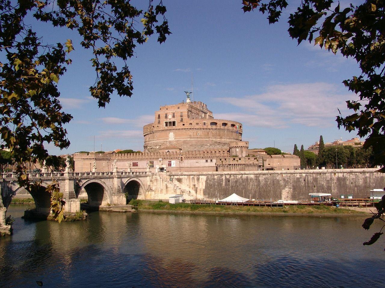Italy, Castel Sant'Angelo, Rome, Italy italy, castelsant