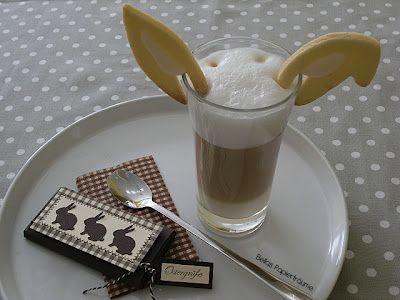 Bella`s wunderbare Idee zu Ostern...  Zitronenöhrchen zur Latte macchiato
