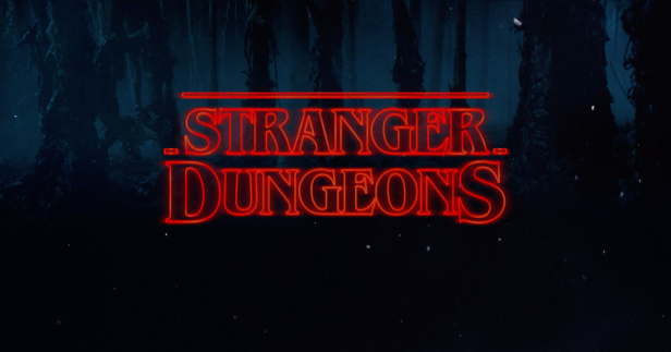Stranger Dungeons Campaign Stranger Things Font Generator Stranger Things Font Stranger Things Season